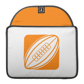 Orange Rugby Sleeve For MacBook Pro