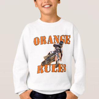 Orange Rules Sweatshirt