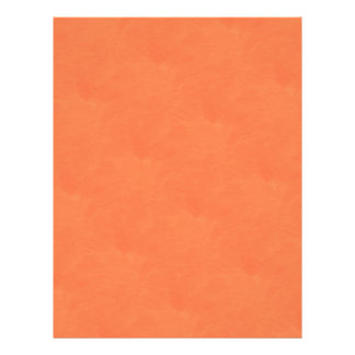 orange scrapbook letterhead