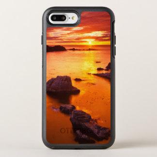 Orange seascape, sunset, California OtterBox Symmetry iPhone 7 Plus Case