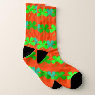 Orange Shamrocks 4Kevin Socks