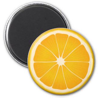 Orange Sherbet 2 Inch Round Magnet