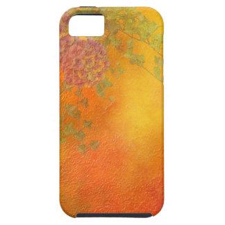 Orange Sherbet Ivy Vines lavender flowers pink iPhone 5 Covers