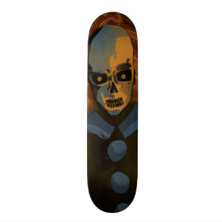 Orange Skull Skateboards