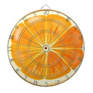 Orange Slice Dartboard