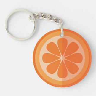 Orange Slice Key-chain Keychain