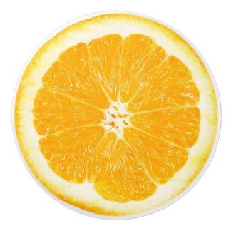 Orange Slice Kitchen Cabinet Knob