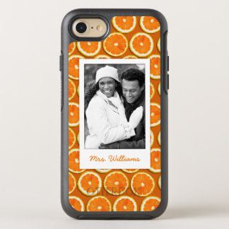 Orange Slice Pattern | Add Your Photo OtterBox Symmetry iPhone 8/7 Case
