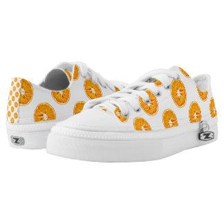 Orange Slices Low-Top Sneakers