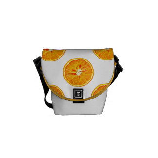 Orange Slices Mini Messenger Bag