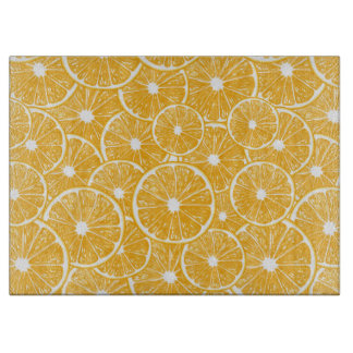 Orange slices pattern design cutting board