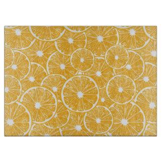 Orange slices pattern design cutting board