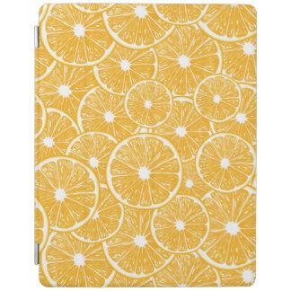 Orange slices pattern design iPad cover