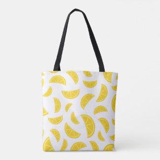 Orange Slices - White Tote Bag