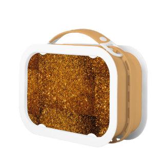 Orange Sparkles Lunch Box