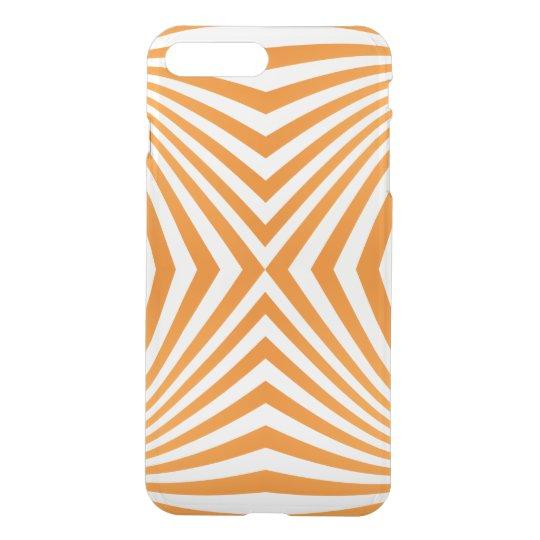 Orange spiral pattern iPhone 8 plus/7 plus case