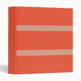 Orange Splash Avery Binder