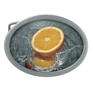 Orange Splash belt buckle