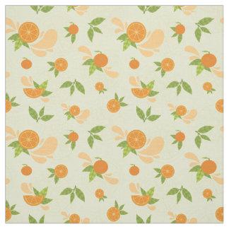 Orange Splash Fabric