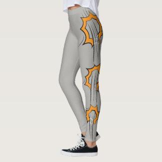 Orange Splash Leggings