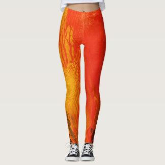 Orange Splash - Leggings