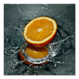 Orange Splash poster