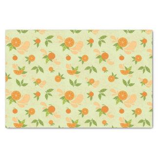 Orange Splash Tissue Paper