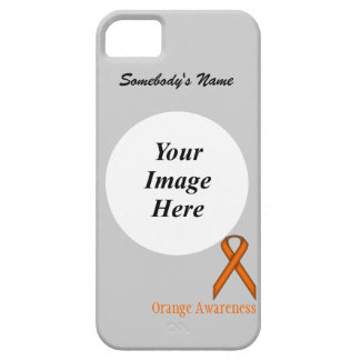 Orange Standard Ribbon by Kenneth Yoncich iPhone 5 Case