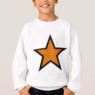 Orange Star design! Sweatshirt