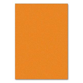 Orange Star Dust Table Card