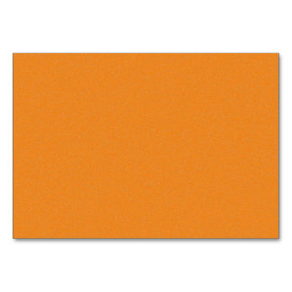 Orange Star Dust Table Cards