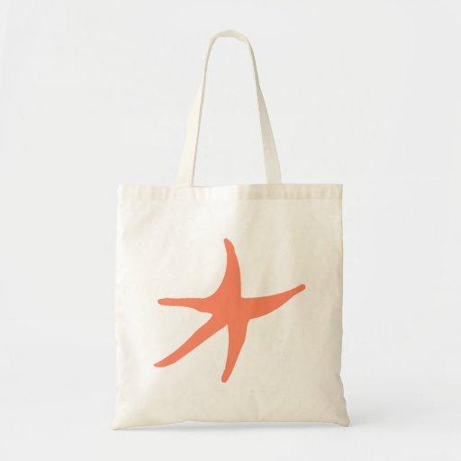 Orange Starfish Bags