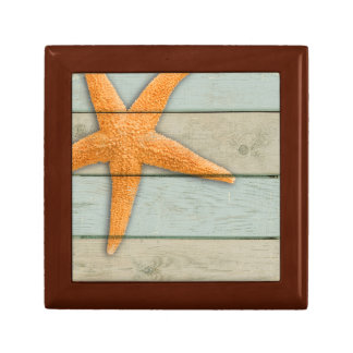 Orange Starfish Gift Box