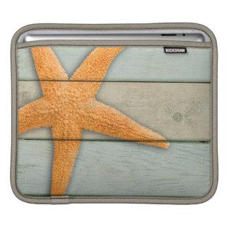 Orange Starfish iPad Sleeves
