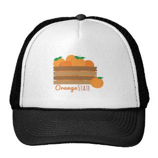 Orange State Trucker Hat