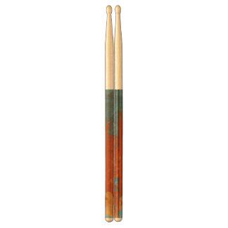 Orange Sticks FriedlanderWann Design Drumsticks