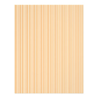 Orange stripes scrapbook paper design