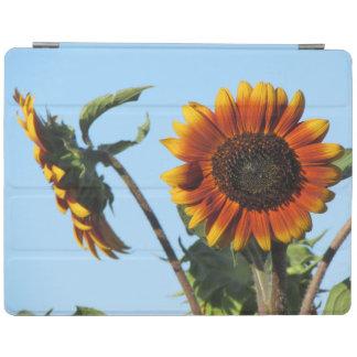 Orange Sunflowers iPad Cover