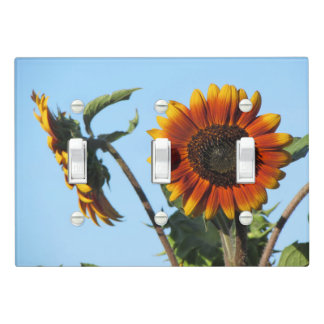Orange Sunflowers Light Switch Cover