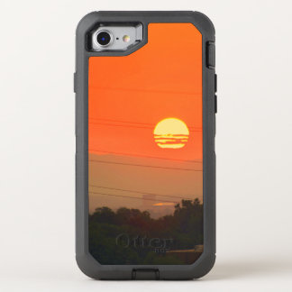 Orange Sunset OtterBox Defender iPhone 7 Case
