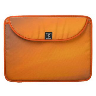 Orange Sunset Sky Abstract Art Macbook Sleeve