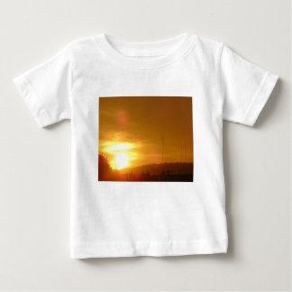 Orange Swirl Baby T-Shirt