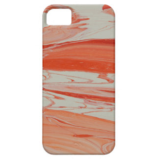 Orange Swirl Case For The iPhone 5