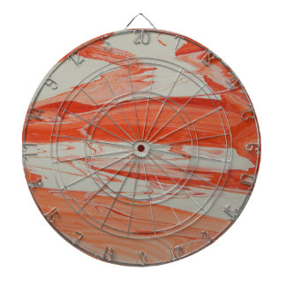 Orange Swirl Dart Board