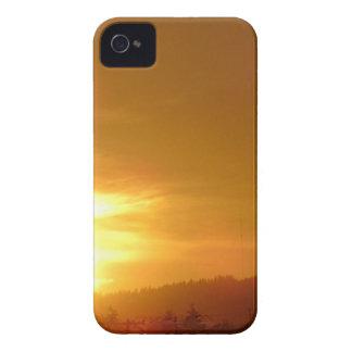 Orange Swirl iPhone 4 Case