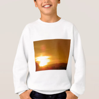 Orange Swirl Sweatshirt