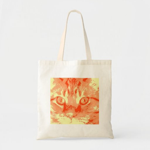 Orange Tabby Cat Bag