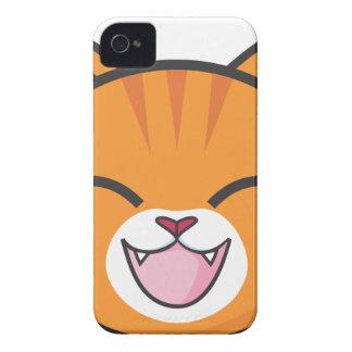 Orange Tabby Cat iPhone 4 Covers