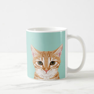 Orange Tabby Cat Mug - Cute Cat Lady Gift