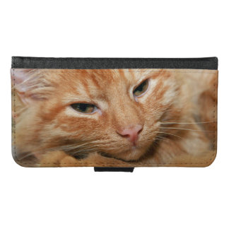 ORANGE TABBY CELL PHONE CASE